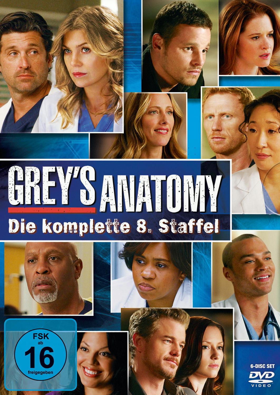 Grey´s Anatomy - Staffel 8 [6 DVDs]