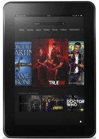 "Amazon Kindle Fire HD 7"" 32GB [Wi-Fi, Vorgängermodell] schwarz"