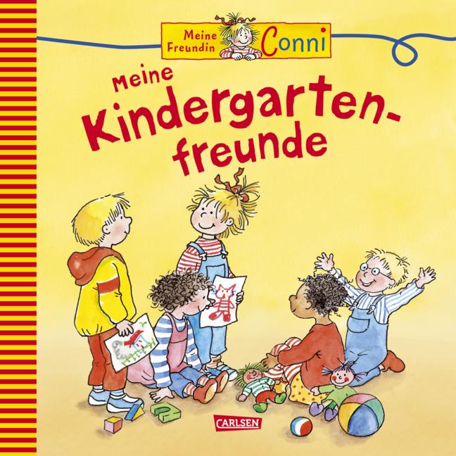 Meine Freundin Conni - Meine Kindergarten-Freunde: Conni Freundschaftsbuch