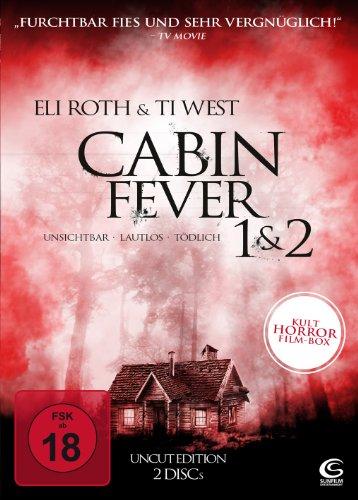 Cabin Fever 1 & 2 - Unsichtbar, lautlos, tödlich [Uncut Edition, 2 DVDs]