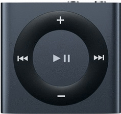 Apple iPod shuffle 4G 2GB graphit [2012]