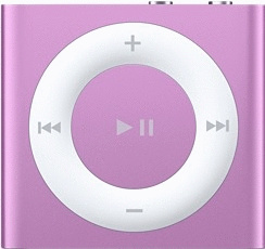 Apple iPod shuffle 4G 2GB violett [2012]