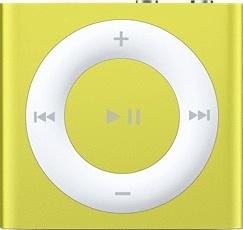 Apple iPod shuffle 4G 2GB gelb [2012]