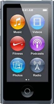 Apple iPod nano 7G 16GB grigio (Ricondizionato)
