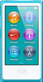 Apple iPod nano 7G 16GB turchese (Ricondizionato)