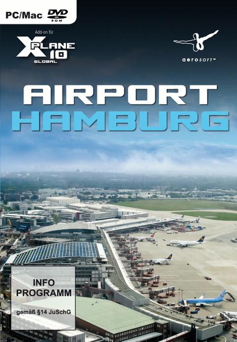 Airport Hamburg [AddOn für Flight Simulator: X-Plane 10 - Global]