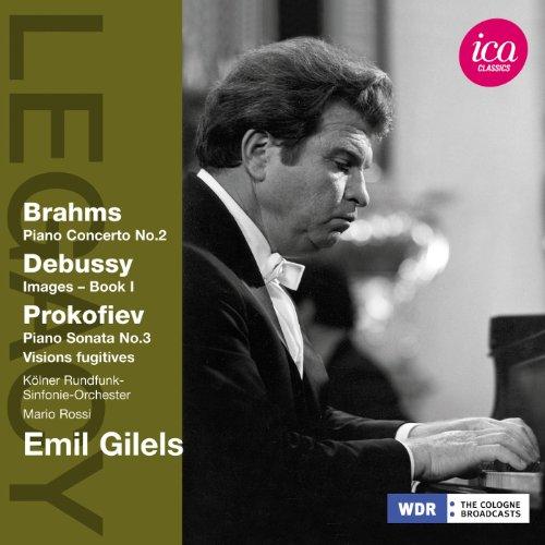 Gilels,Emil - Klavierwerke: Brahms, Debussy, Pr...
