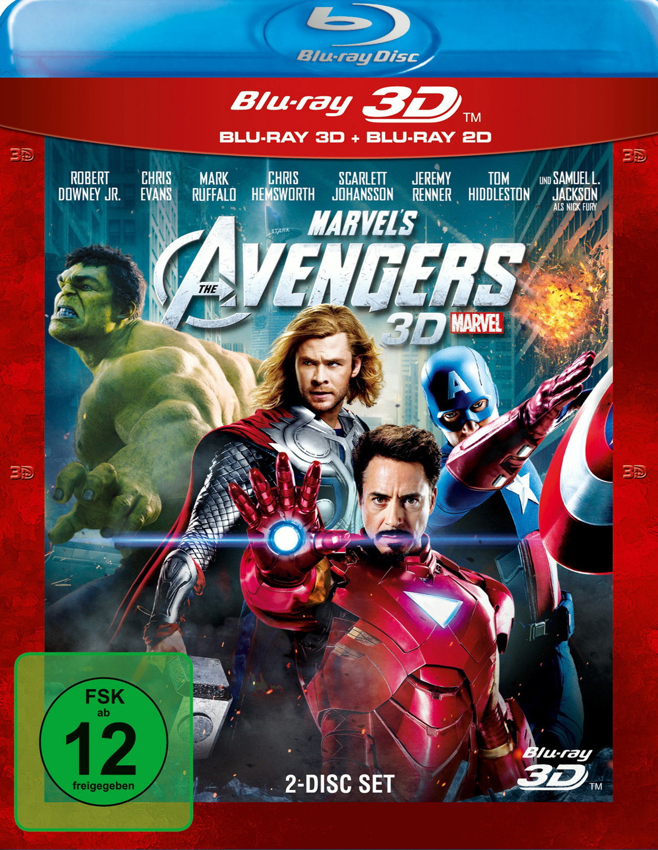 Marvel´s The Avengers 3D [inkl. 2D Version]
