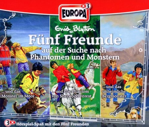 Fünf Freunde: Folgen 39 / 52 / 77 - ... auf der Suche nach Phantomen und Monstern [3er Box]