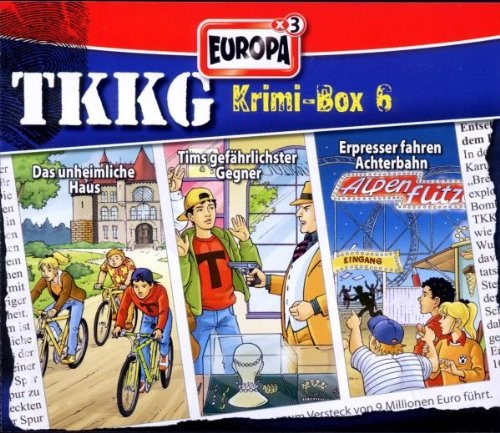 TKKG - Krimi-Box: Folgen 143 / 149 / 156 [3er Box]