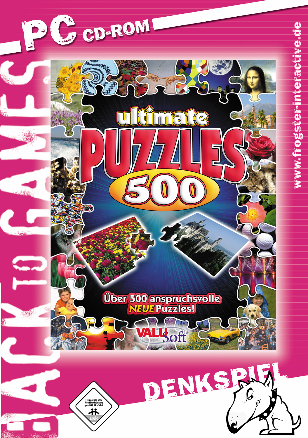Ultimate Puzzles 500 [Back to Games]