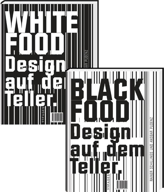 Black & White Food: Design auf dem Teller - Wey...