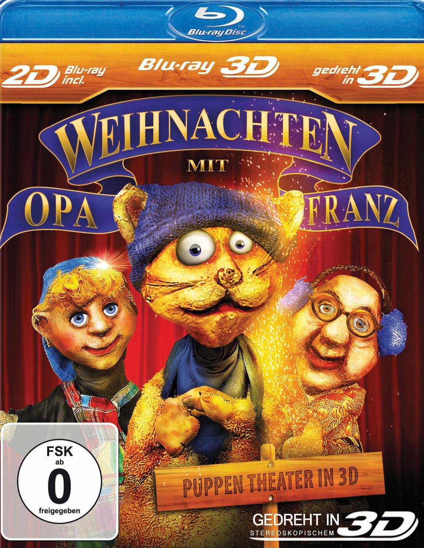 Kasperletheater 3D - Teil 4 - Weihnachten bei Opa Franz