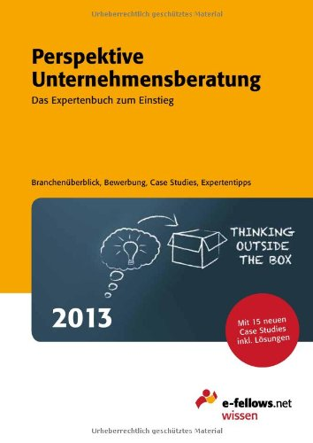 Perspektive Unternehmensberatung 2013: Das Expe...