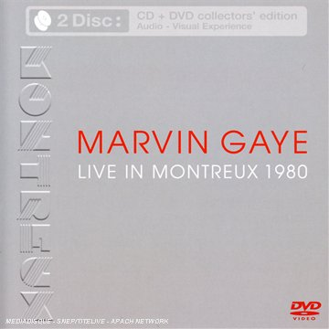 Marvin Gaye - Live in Montreux 1980 [Inkl. DVD]