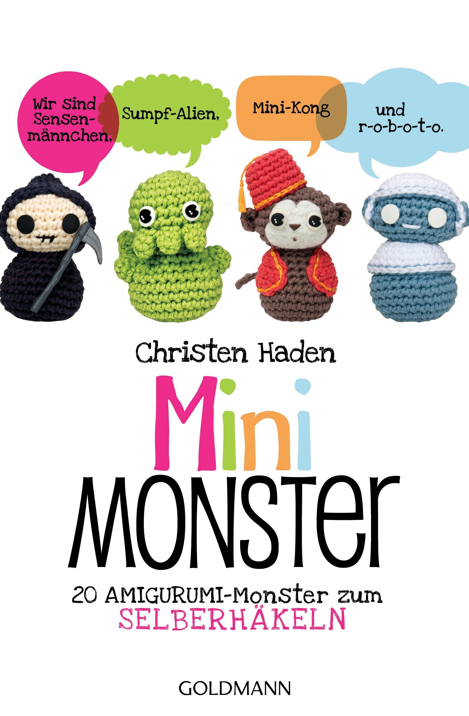Mini-Monster: 20 Amigurumi-Monster zum Selberhä...