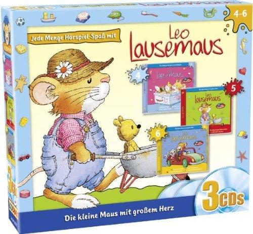 Leo Lausemaus - Die kleine Maus mit großem Herz: Folge 4-6 [3 CDs]