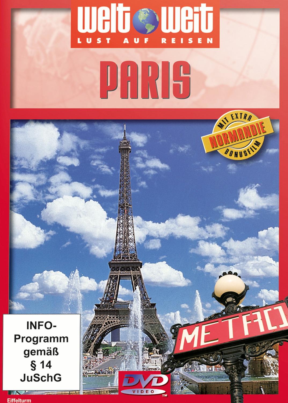 Paris mit Bonusfilm Normandie (Reihe: welt weit) 1 DVD, Gesamtlänge: ca. 75 Minuten