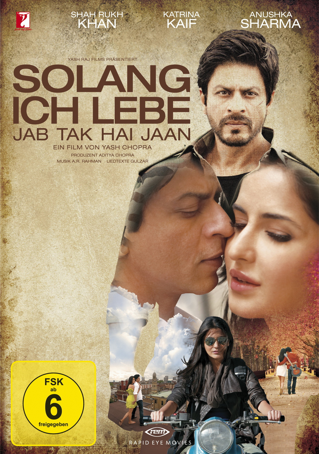 Solang ich lebe - Jab Tak Hai Jaan [2 DVDs, Spe...