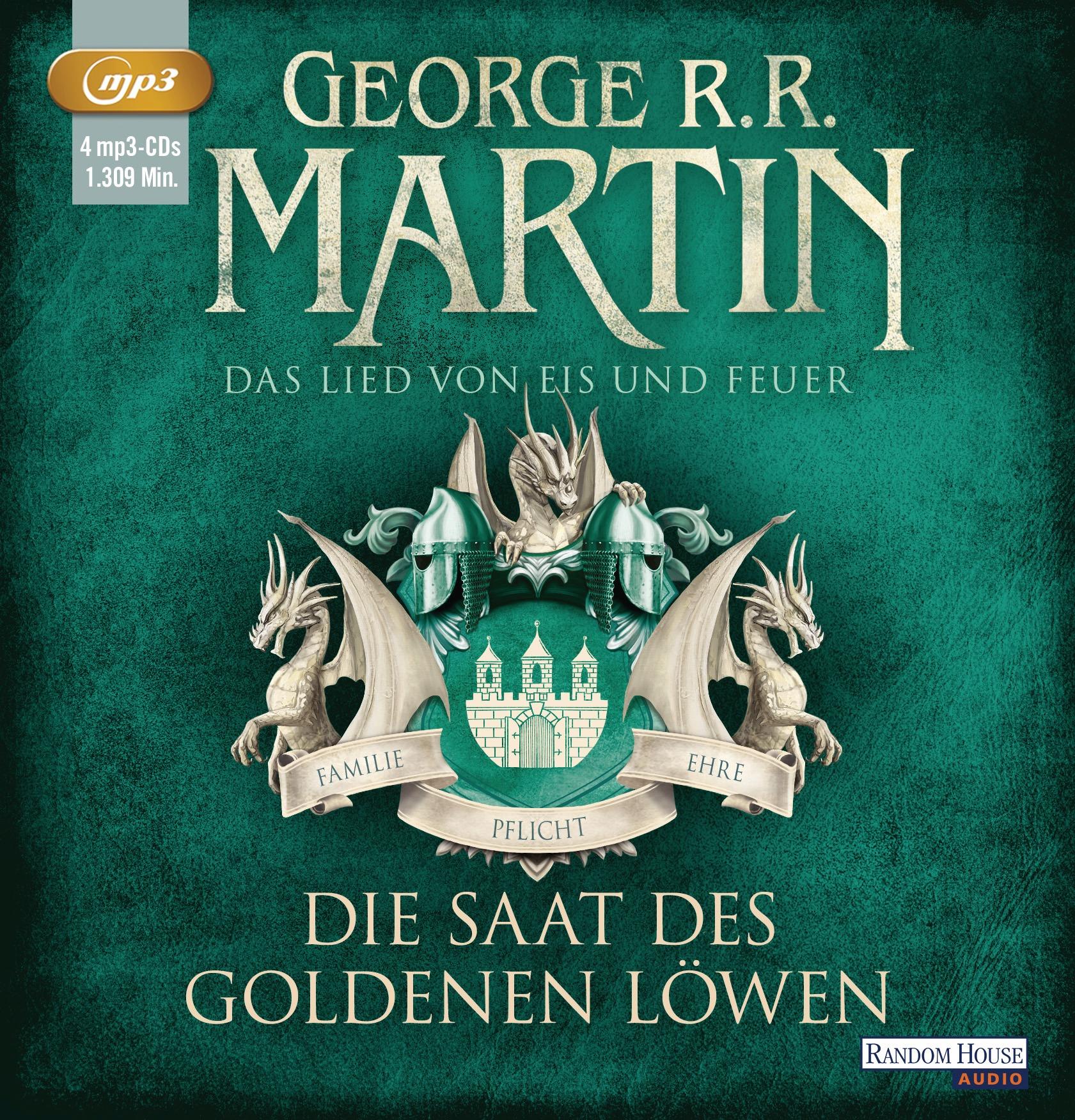Das Lied von Eis und Feuer: Band 4 - Die Saat des goldenen Löwen - George R.R. Martin [3 mp3-CDs]