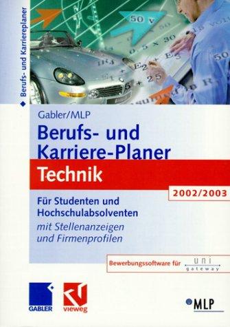 Gabler / MLP Berufs- und Karriere-Planer 2002/2...