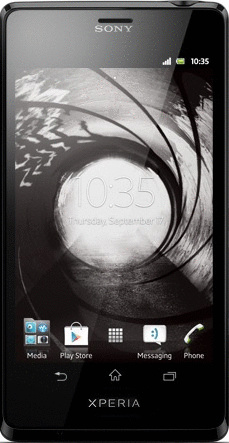 Sony Xperia T schwarz [James Bond Edition inkl....