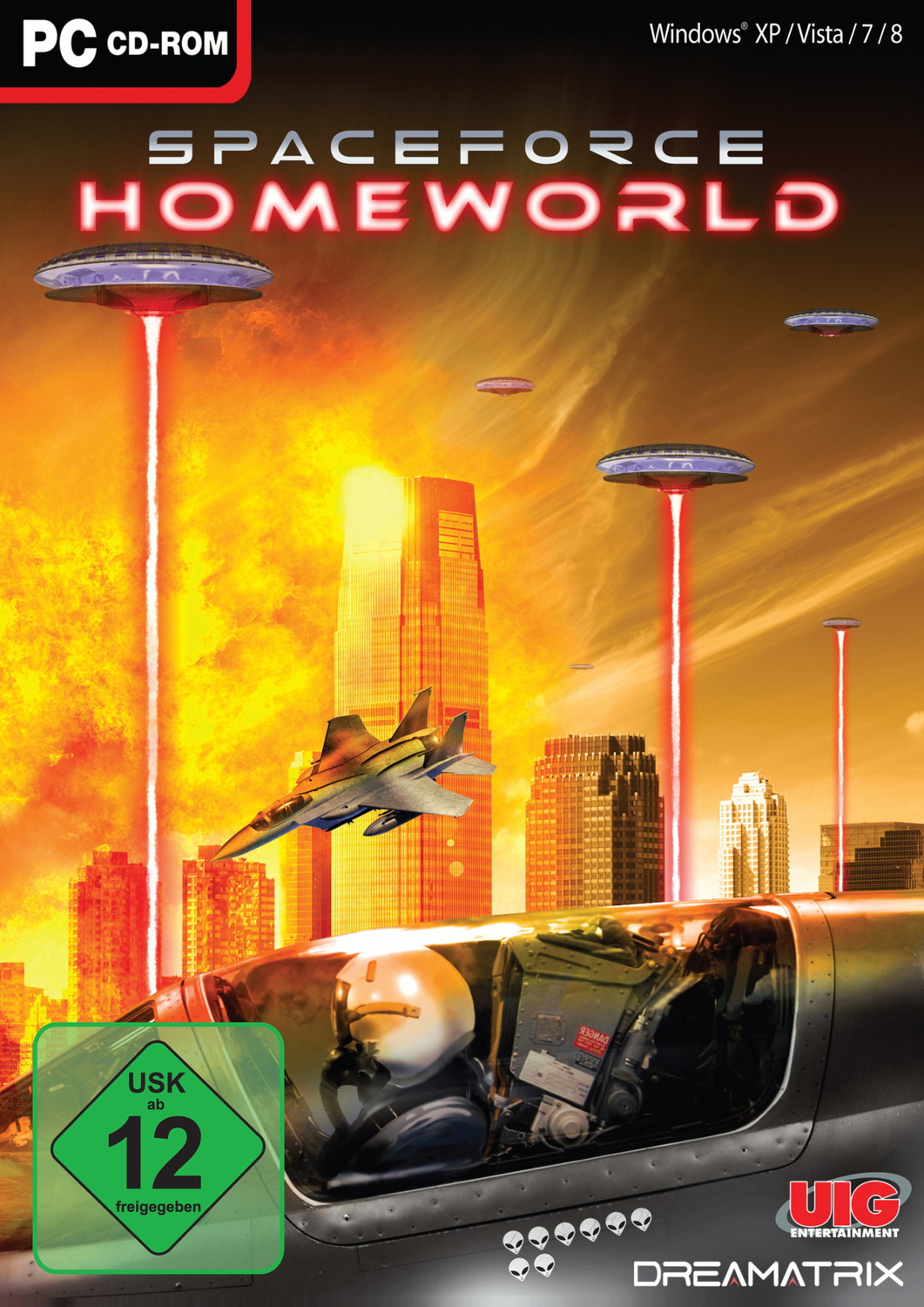Explosive: Spaceforce Homeworld