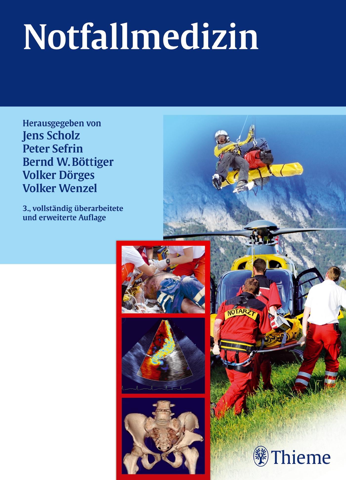 Notfallmedizin - Jens Scholz [Gebundene Ausgabe, 3. Auflage 2012]