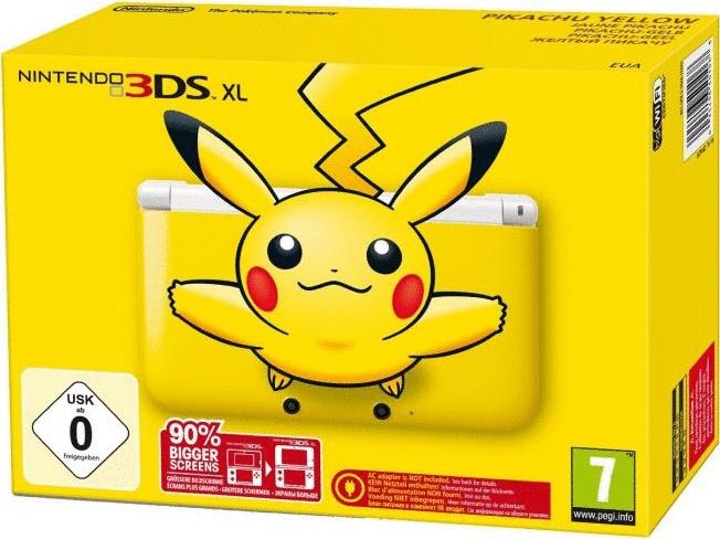 Nintendo 3DS XL Pikachu gelb [inkl. 4GB Speicherkarte]