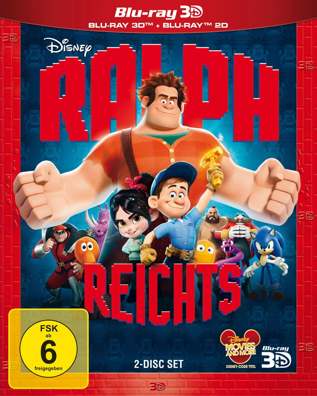Ralph reichts [3D inkl. 2D Blu-ray]