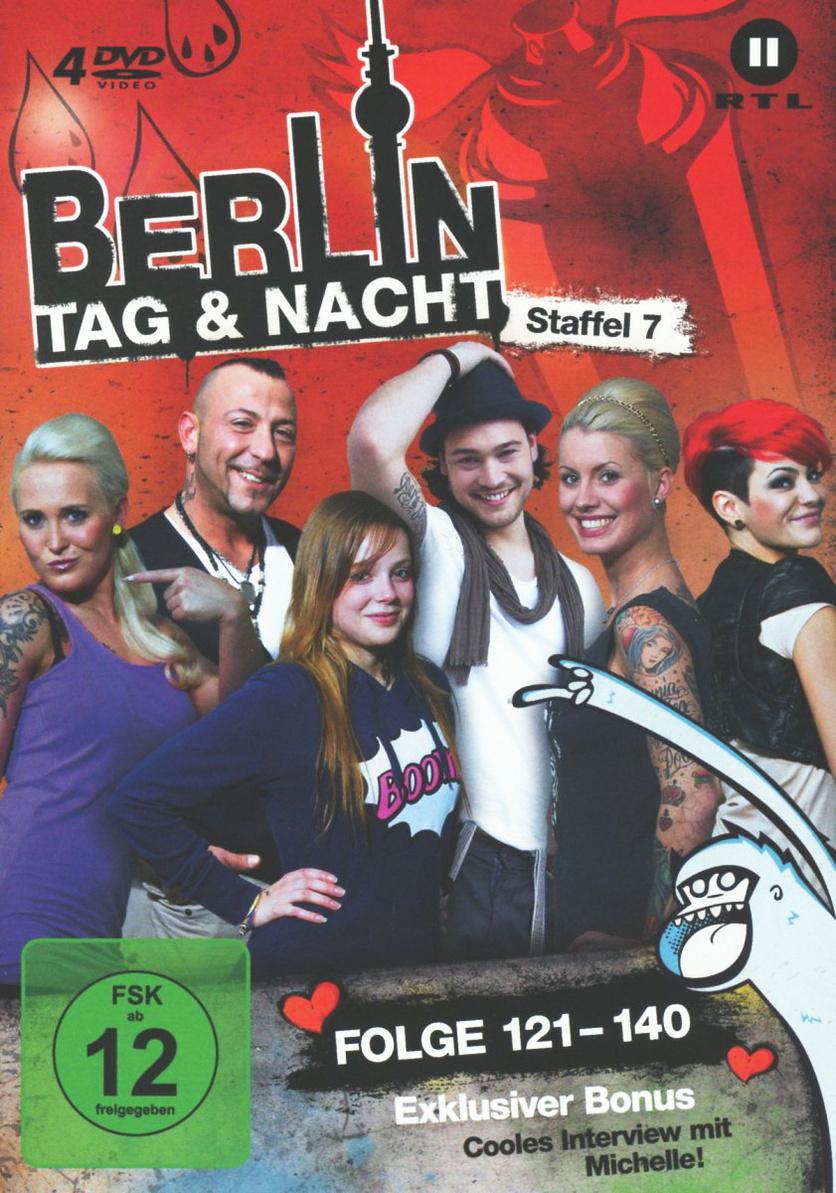 Berlin - Tag & Nacht: Staffel 7 - Folge 121-140...