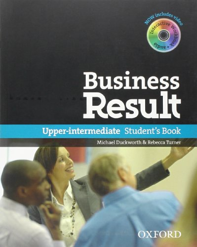 Business Result: Upper-Intermediate - Student´s Book - Michael Duckworth [with CD-ROM]
