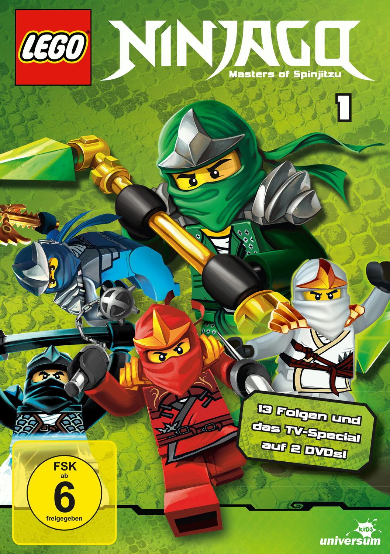 Lego Ninjago - Staffel 1 [2 DVDs]