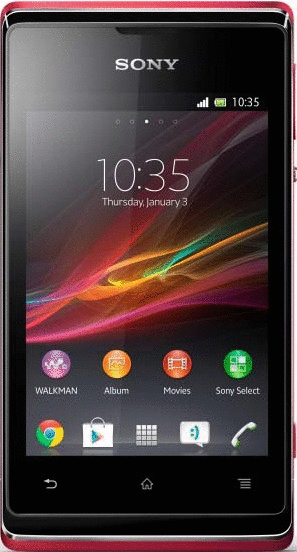 Sony Xperia E 4GB pink