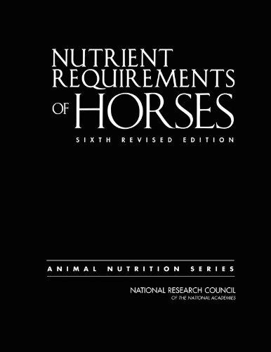 Nutrient Requirements of Horses - National Research Council [6th Revised Edition]
