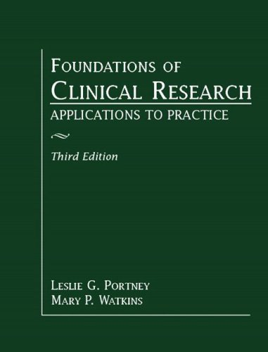 Foundations of Clinical Research: Applications ...