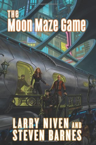 Dream Park - Book 4: The Moon Maze Game - Larry Niven, Steve Barnes