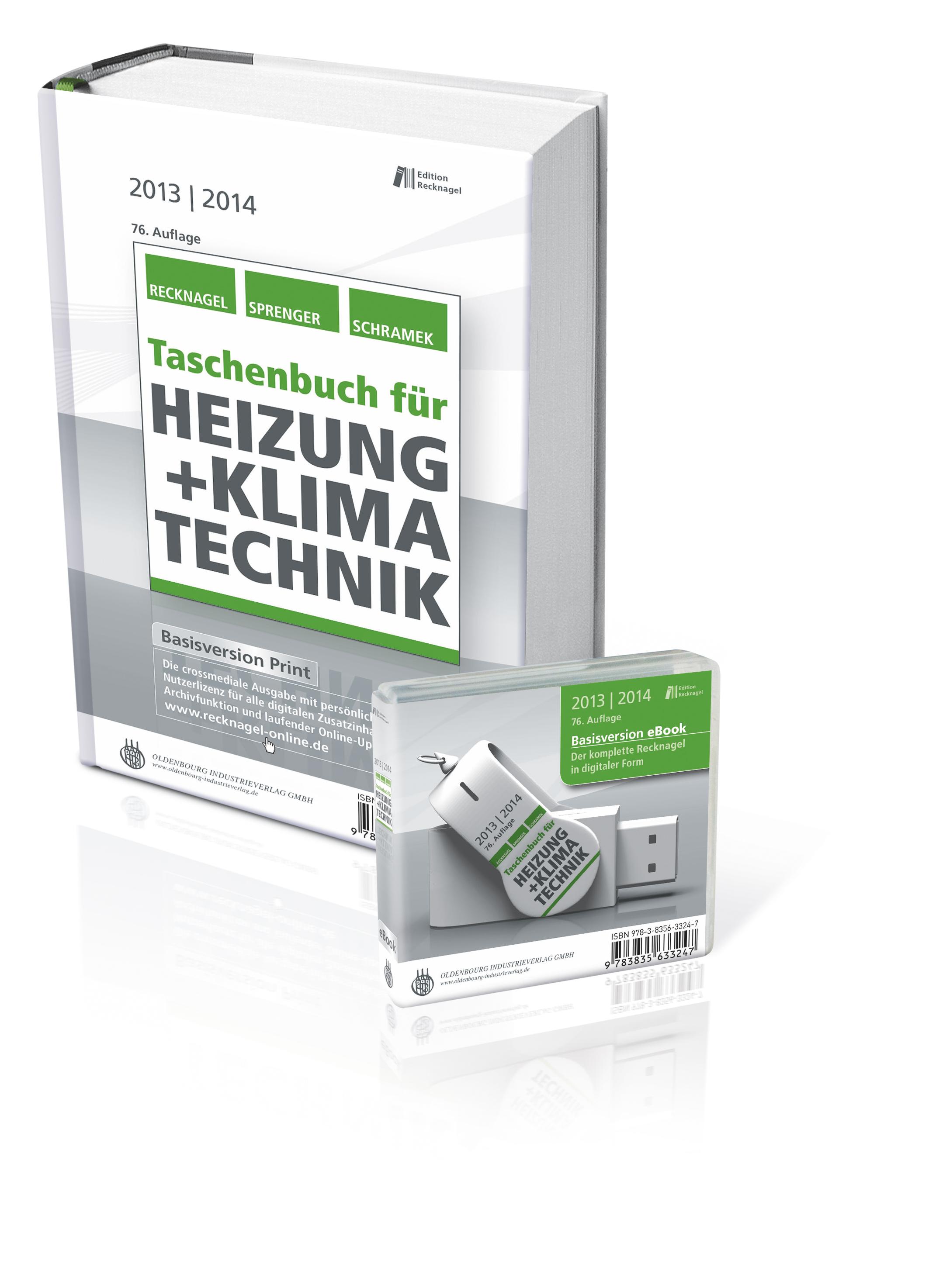 Taschenbuch für Heizung + Klimatechnik 13/14 - ...