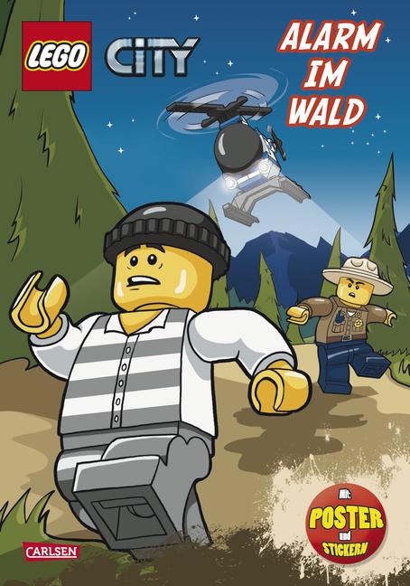 LEGO City: Alarm im Wald [mit Poster und Stickern]