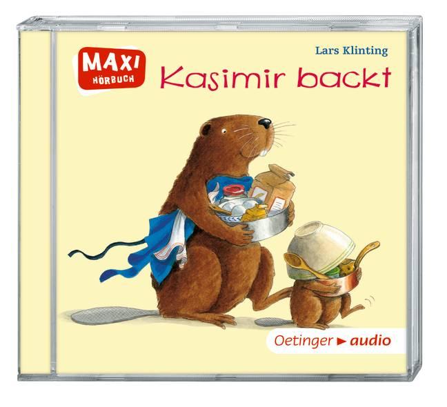 Kasimir backt (CD): Ungekürzte Lesung mit Geräu...