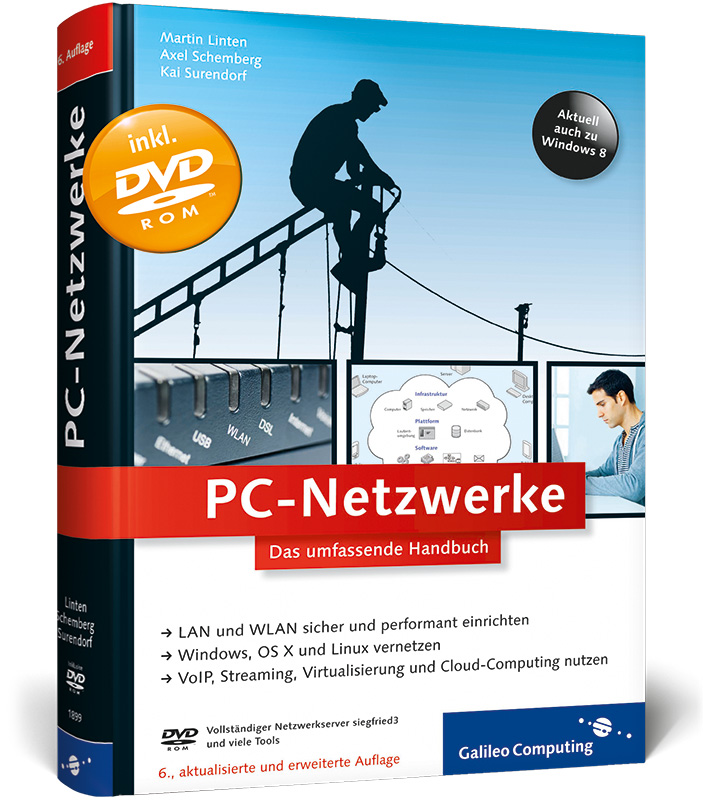 PC-Netzwerke: LAN und WLAN planen und einrichte...
