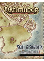 Pathfinder Campaign Setting: Skull & Shackles Poster Map Folio -  Rob Lazzaretti [3 Posters]