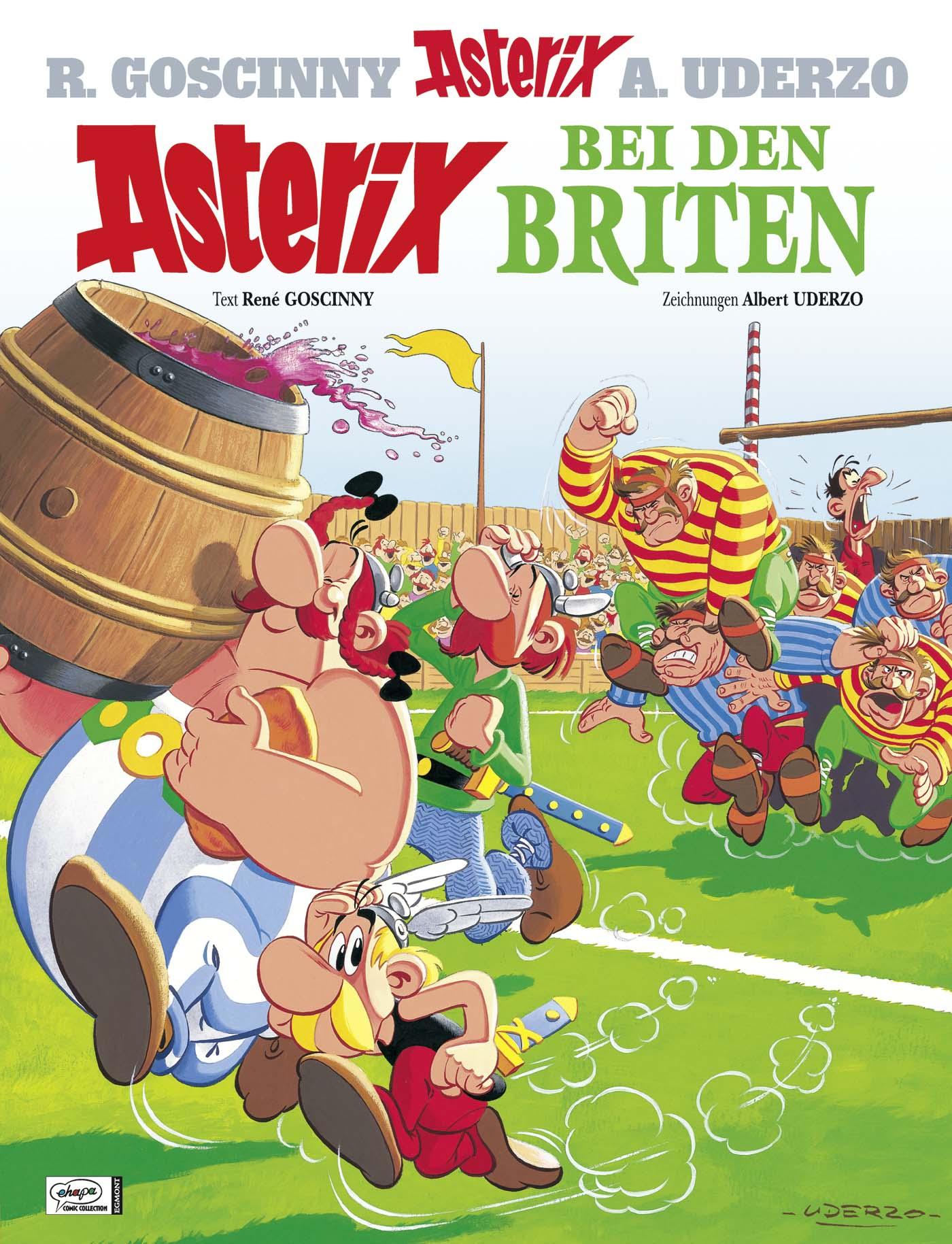 Asterix: Band 8 - Asterix bei den Briten - R. Goscinny & A. Uderzo [Gebundene Ausgabe]