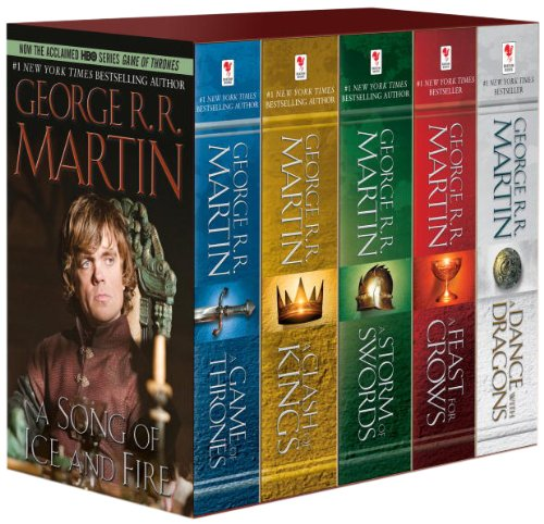 A Song of Ice and Fire: Book 1-5 - George R. R. Martin - [Paperback; 5 Books]