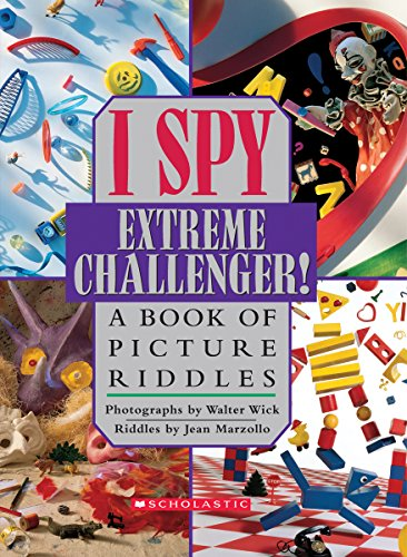 I Spy Extreme Challenger: A Book Of Picture Riddles - Jean Marzollo [Hardcover]