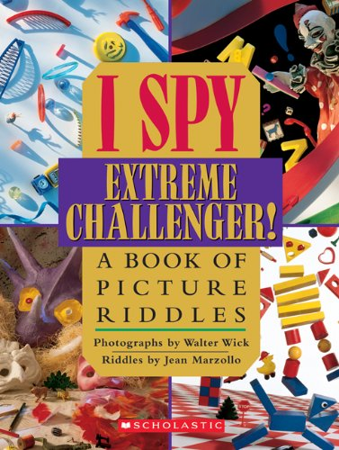 I Spy Extreme Challenger: A Book Of Picture Rid...