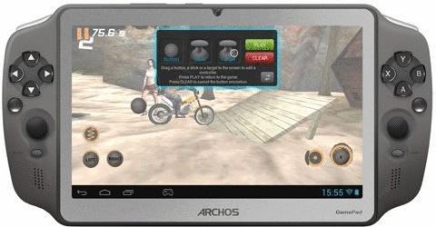 Archos GamePad 7 8GB [Wi-Fi] anthrazit