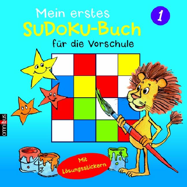 Mein erstes Sudoku-Buch für die Vorschule 01. M...