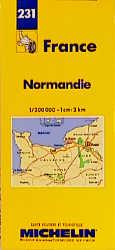 Michelin Karten, Bl.512 : Normandie (Michelin Maps) - Michelin Travel Publications