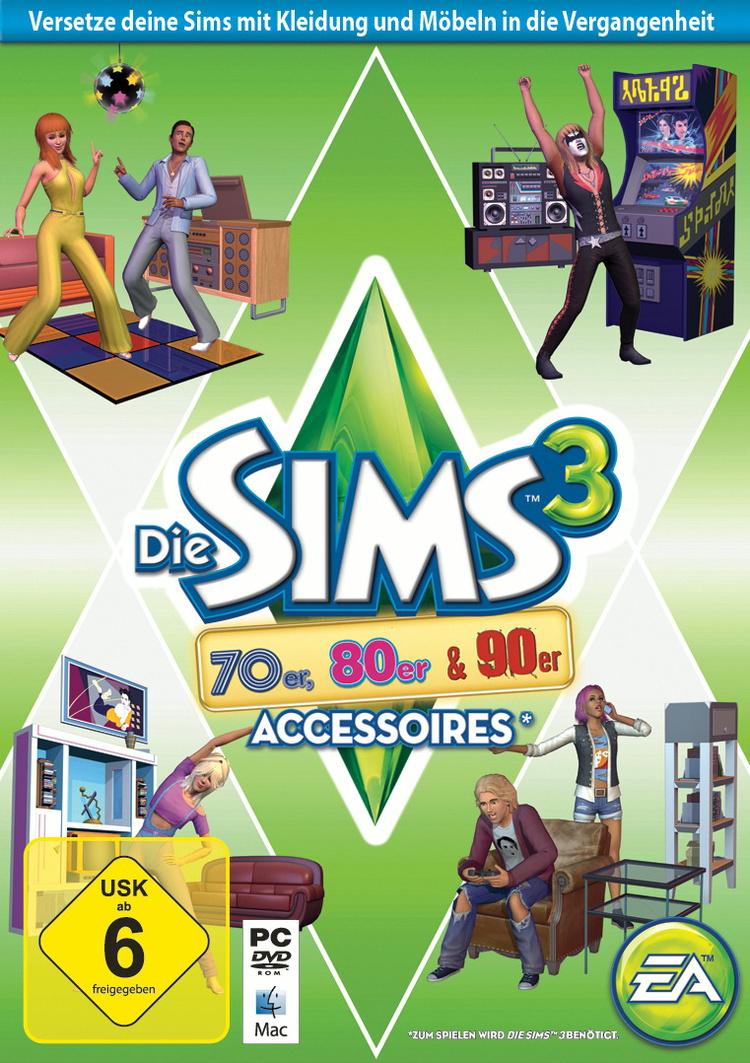 Die Sims 3: 70er, 80er & 90er Accessoires [AddOn]